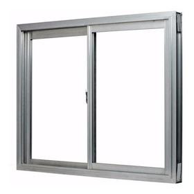 Ventana 150 X 110 Aluminio Nat. Vidrio Entero