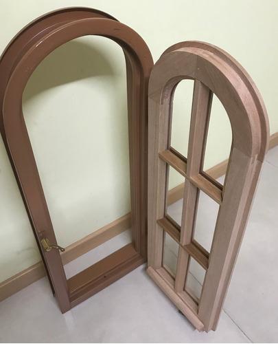 ventana abrir madera