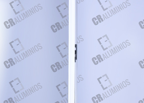 ventana aluminio blanca (vidrio entero) 1.50 x 1.10