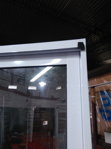 ventana balcon modena de aluminio blanco 120x200cm