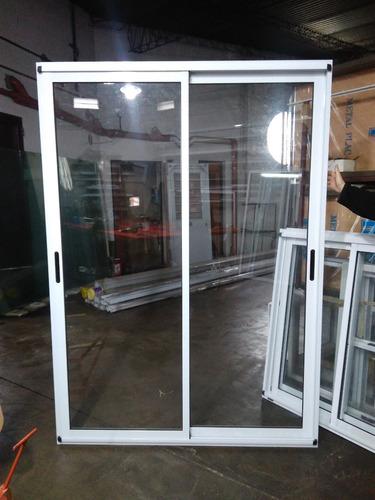 ventana balcon modena de aluminio blanco 150x200cm