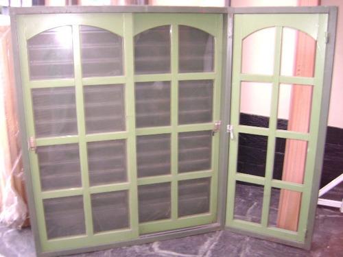 ventana bowindow 1,50x1,50 lateral de 60x1,50