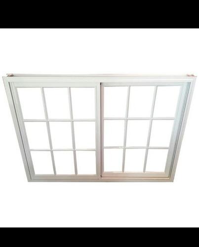 ventana con reja 150x110 color blanco  oferta