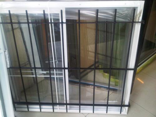 ventana corrediza 1.20 x 1.10/ cortina / reja y mosquitero
