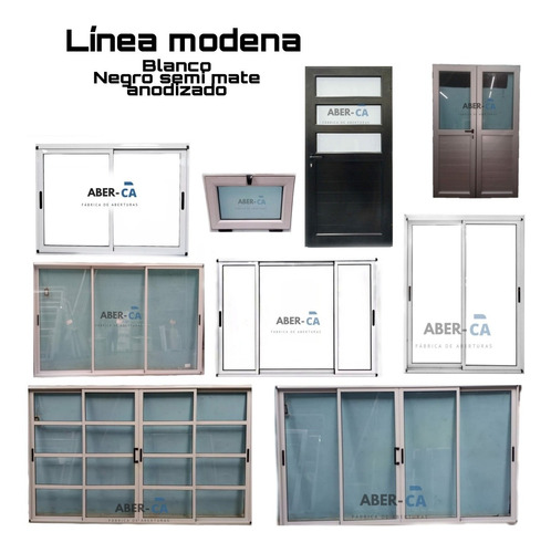 ventana corredizas modena alta prestacion vidrio dvh
