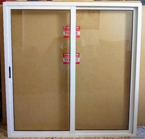 ventana de aluminio de 120 x 120 centímetros