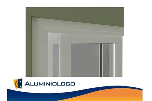 ventana de aluminio ecobel 150cm x 100cm (estandarizada)