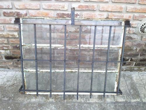 ventana de hierro