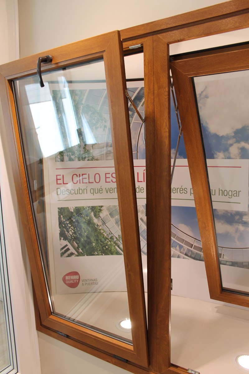 Fotos de ventanas de pvc elegant ventanas pvc with fotos for Aberturas pvc simil madera precios