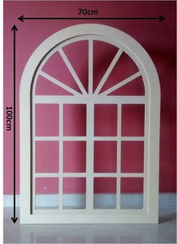 ventana decorativa candy bar 70x100cm mdf crudo