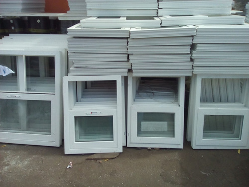 ventana en pvc 1.20 x 1.20