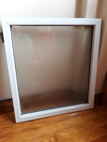 ventana fija aluminio usada