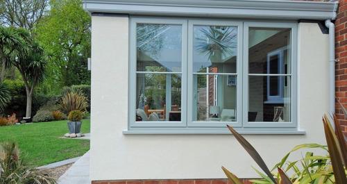 ventana guillotina aluminio blanco 80x100cm
