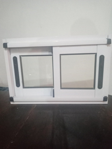 ventana línea modena 60x40 vidrio laminado 3+3 de seguridad.