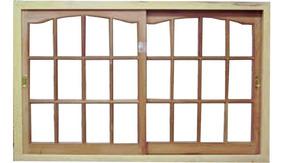 Ventana Madera 1 20 X 1 10 Para Vidrio Repartido