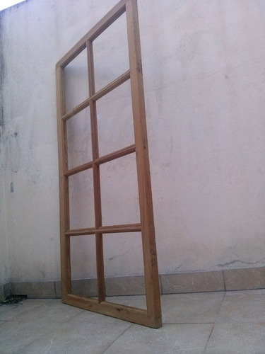 ventana madera abertura