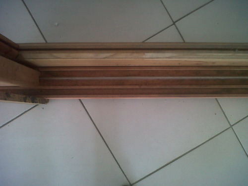 ventana madera cedro nacional vid/ rep con postigos 150x110