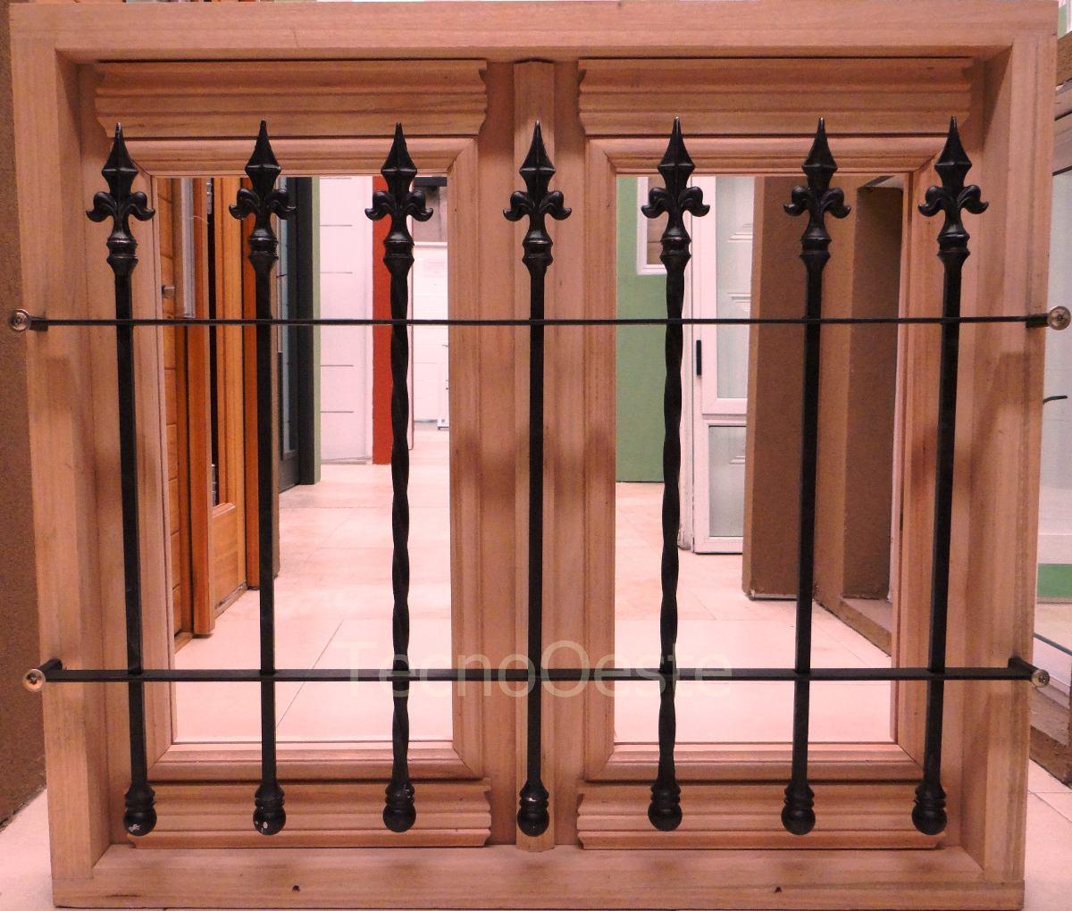 Rejas de madera excellent reja de madera u vector de for Rejas de madera