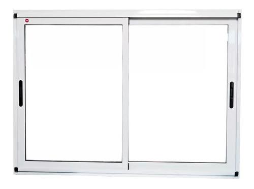 ventana módena aluminio 150x110 cm c/vidrios seguridad 3+3
