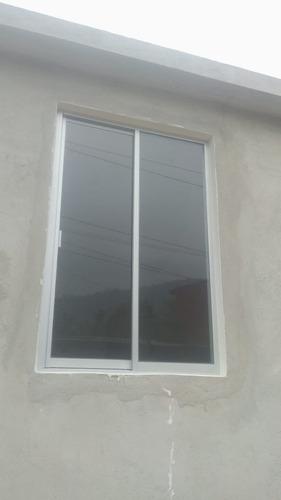 ventana prefabricada corrediza de aluminio