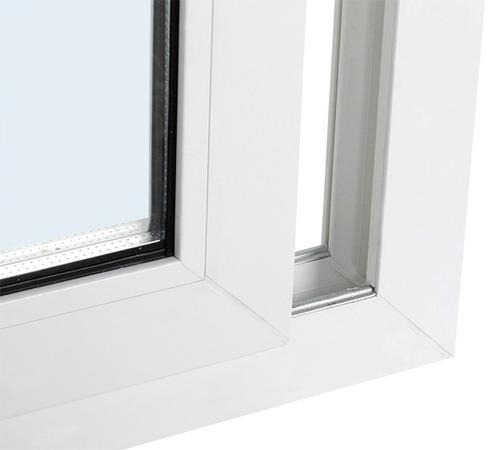 ventana pvc + doble vidriado hermético + 1000mm x 500mm