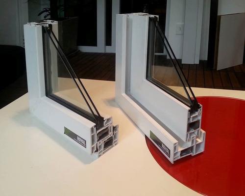 ventana pvc dvh 180 x 160  doble vidrio corredizas -mosquite