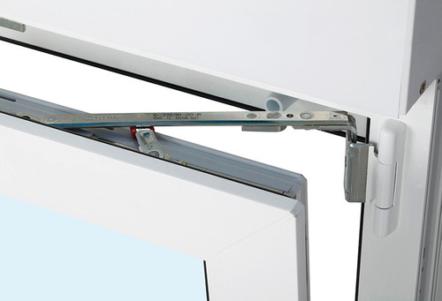 ventana pvc l'hermetique 0.60m x 1.15m oscilobatiente c/dvh