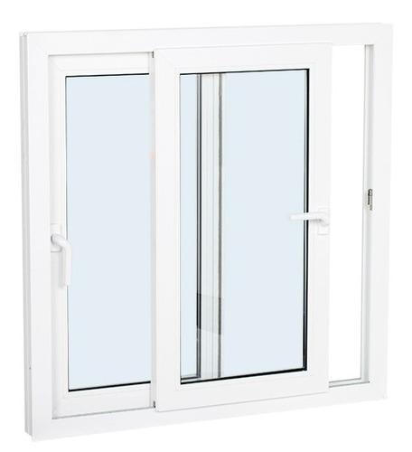 ventana pvc l'hermetique 1.00m x 0.50m corrediza con dvh