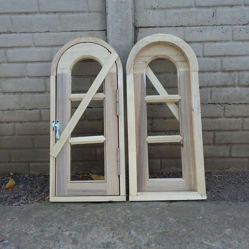 ventana raja marco medio punto 0,30 x 0,80 beraldi aberturas
