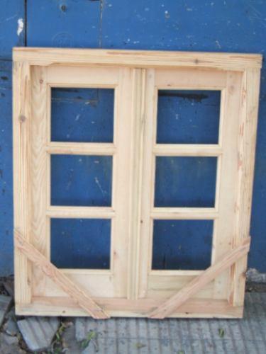 ventana reciclada antiguo