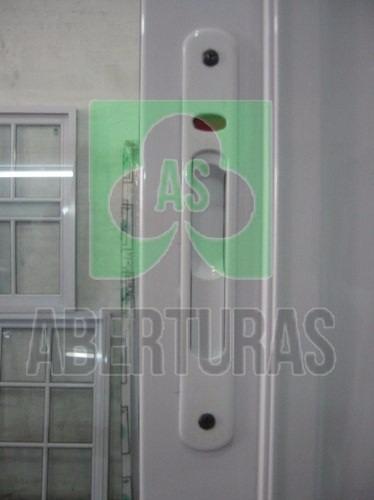 ventana rotonda 640 alum blan ent 4mm 1,50 x 1,10 c/vidrio