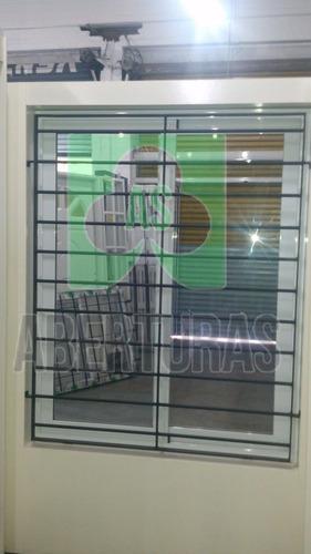 ventana rotonda 640 alum blan entero 120x150 c/vid y reja