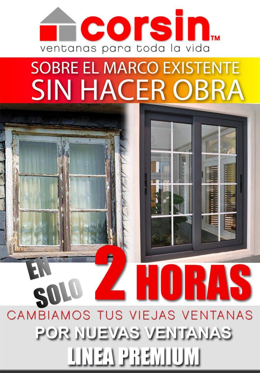 Ventana Sobre Marco Existente! Ahorra En Electricidad Y Gas! - $ 995 ...