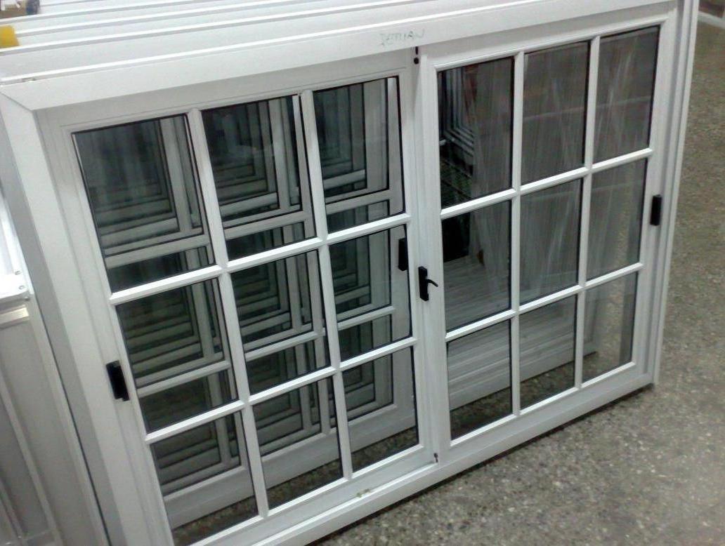 Ventana Vidrio Repartido 150x110 Aluminio Fabrica - $ 3.200,00 en ...