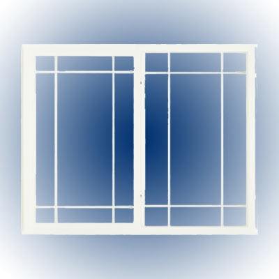 Ventana vinil doble vidrio c low e alpine 5 en - Ventanas doble cristal ...