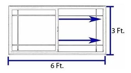 ventana vinil doble vidrio c/low-e alpine