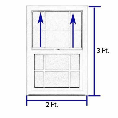 Ventana vinil doble vidrio opaco p ba o alpine 2 866 - Ventana doble cristal ...