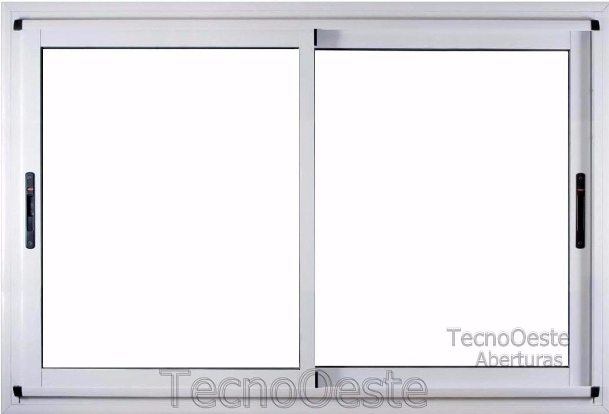Ventanal Aluminio Módena Vidrio Hermético 200x150 Dvh 4/9/4 ...