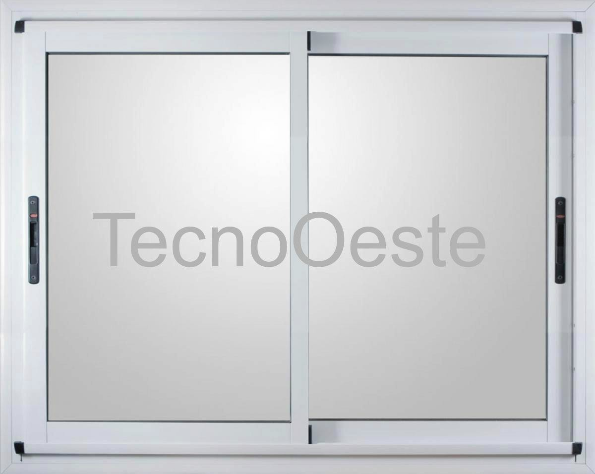 Ventanal Módena Aluminio Bco 300x200 Vidrios Seguridad 3+3 ...