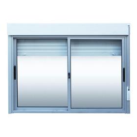 Ventanas Aluminio Con Cortina Enrollar 150 X 120 Premium