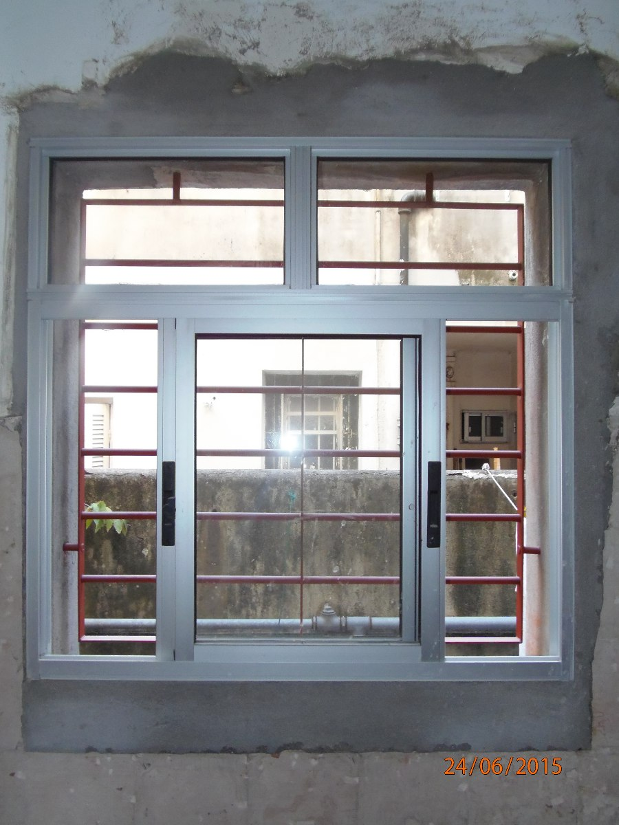 Ventanas aluminio puerta corredizas colocaciones 980 for Puerta ventana corrediza aluminio