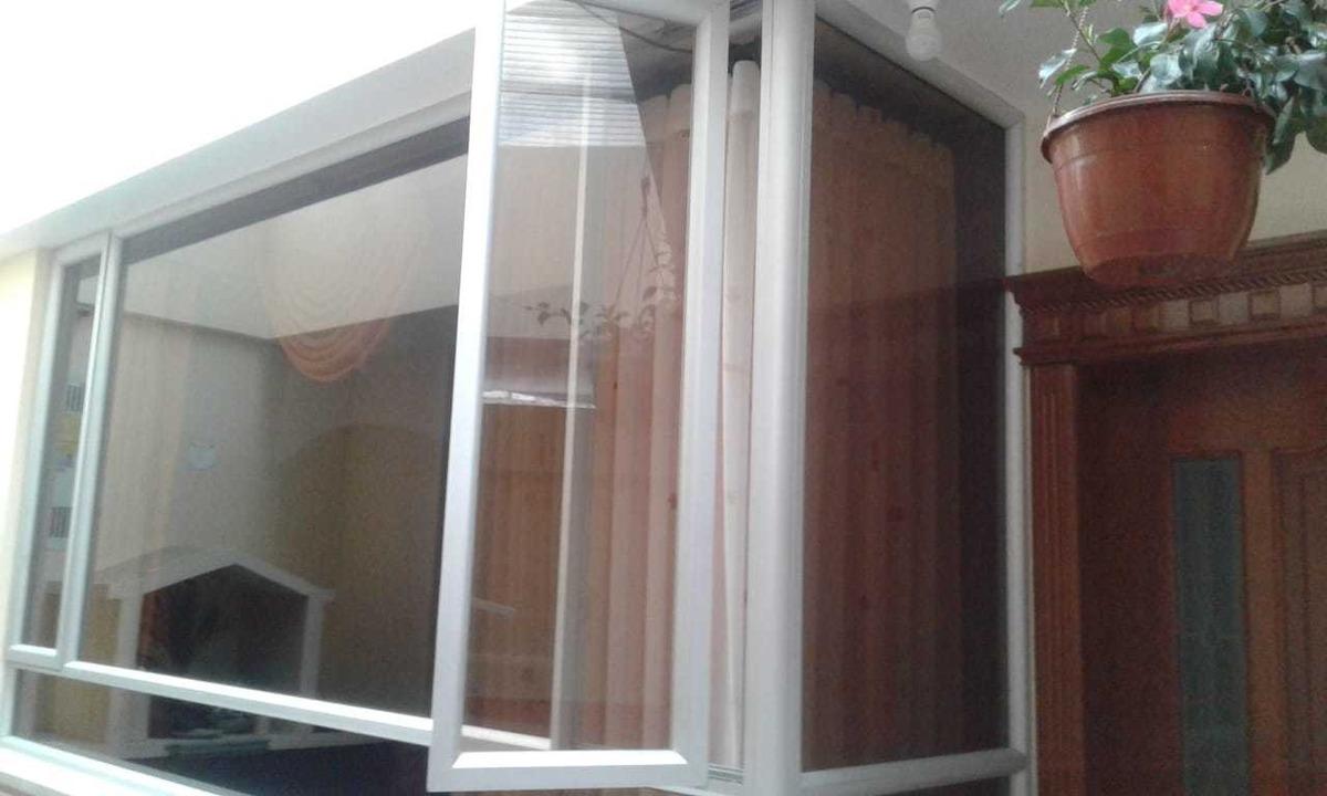 ventanas aluminio y vidrio