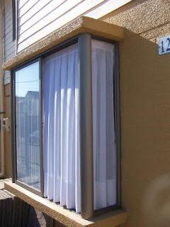 Ventanas bow windows a medida vidrieria recoleta for Ventanas aluminio color titanio