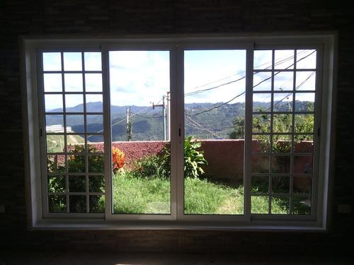 ventanas corredizas enmarcadas anti-ruidos