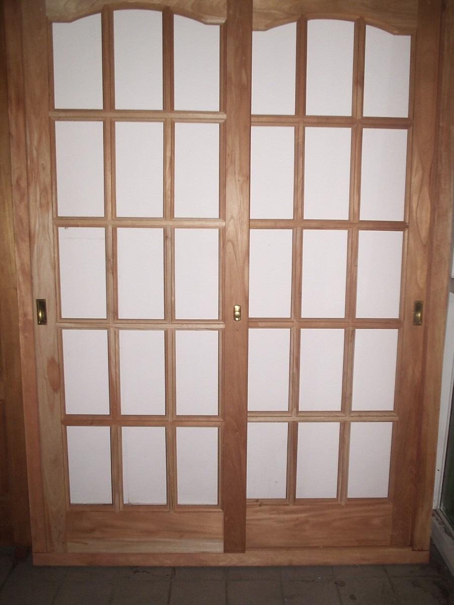 ventanas corredizas madera