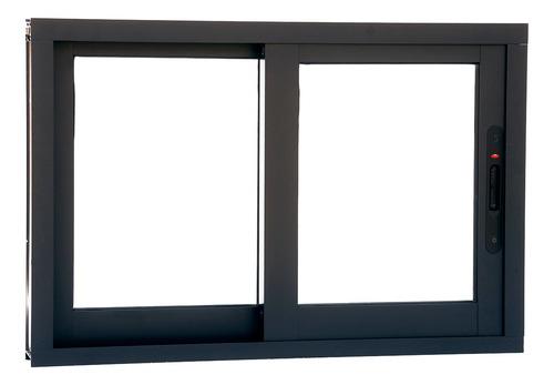 ventanas de aluminio corrediza 3 pulgadas 1.00 x 1.00 mts