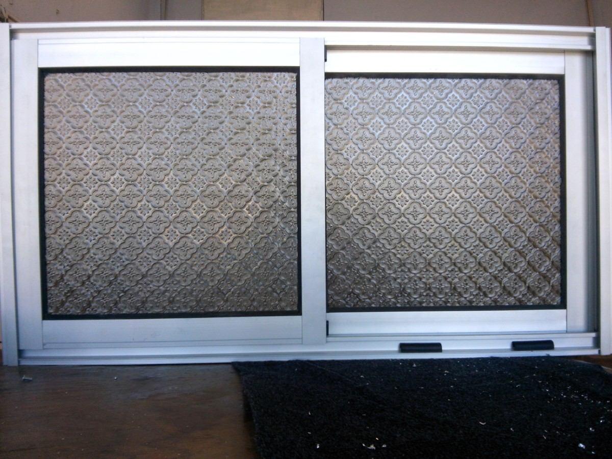 Ventanas de aluminio para ba o 900 00 en mercado libre for Cuanto cuesta el aluminio para ventanas