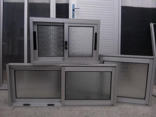 Ventanas de aluminio para ba o 900 00 en mercado libre for Tipos de ventanas de aluminio para banos
