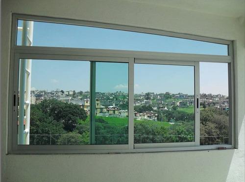 ventanas de aluminio y canceles templados
