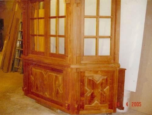 ventanas de madera bowindow
